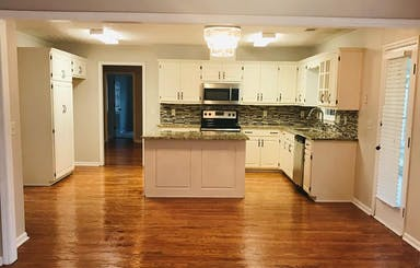 Keeping Room To Kitchen