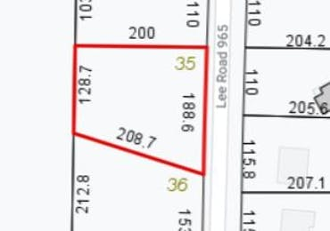 Lot 35 Lee Road 0965 - Valley, Alabama 36854